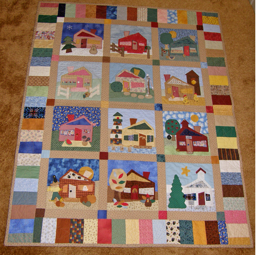 Quilt Patterns Block Of The Month : Block of the Month